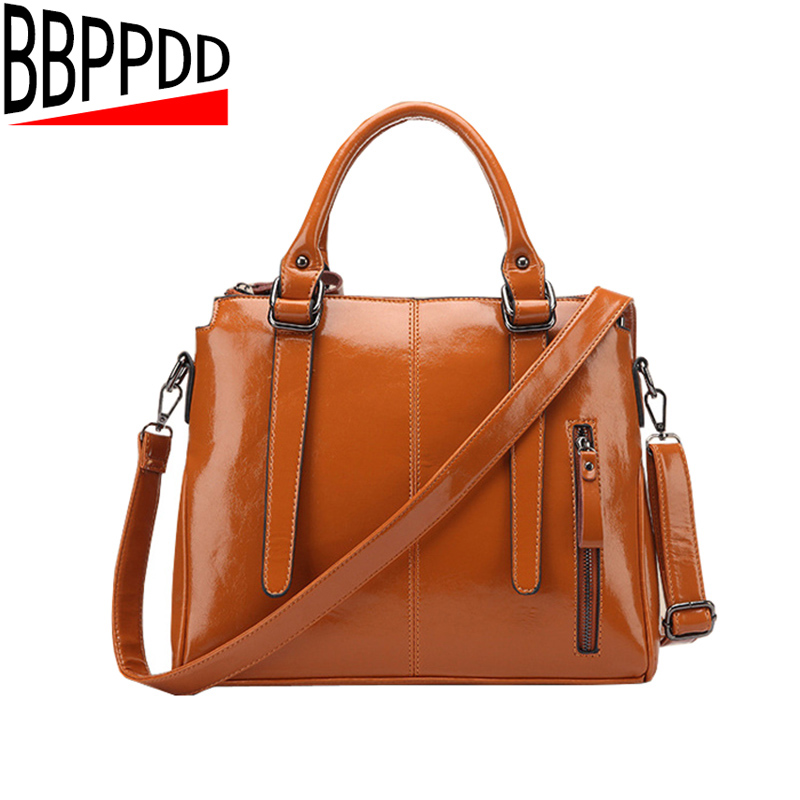 Women Vintage Handbag 2018 New Fashion Women Messenger Bags Shoulder Bag Hot Crossbody Bag Oil Wax Leather Tote Bolsas aetoo 2017 new arrival oil wax genuine leather women handbags fashion embossed crossbody bags female handbag trend bag bolsas