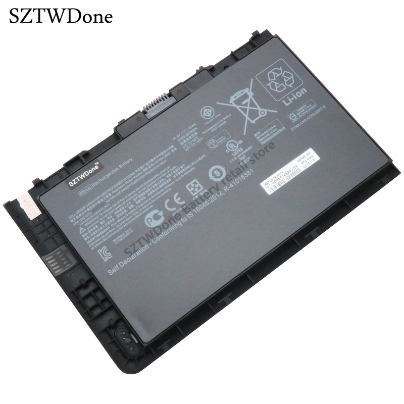 SZTWDONE New BT04XL Laptop Battery for HP EliteBook Folio 9470m BT04 HSTNN-DB3Z HSTNN-IB3Z HSTNN-I10C 687517-2C1 687945-001 laptop built in battery tr03xl for hp split x2 13 g110dx split x2 13 series tr03xl hstnn db5g hstnn ib5g hq tre 723922 171 72392