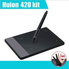 Buy HUION 420 4″ Digital Tablet Graphics Drawing Tablet Pad w/Pen 2048 Level Digital Pen Signature Pen Tablet mesa digitalizadora