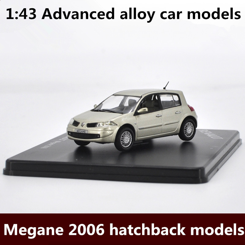1:43 Advanced Alloy Car Models,high Simulation Megane Hatchback Model,metal Diecasts,the Children's Toy Vehicles,free Shipping