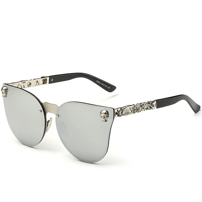 Fashion Luxury Sunglasses Women Brand Designer Skull Sun Glasses For Ladies Retro UV400 Anti-Reflective Female Oculos RS082 5