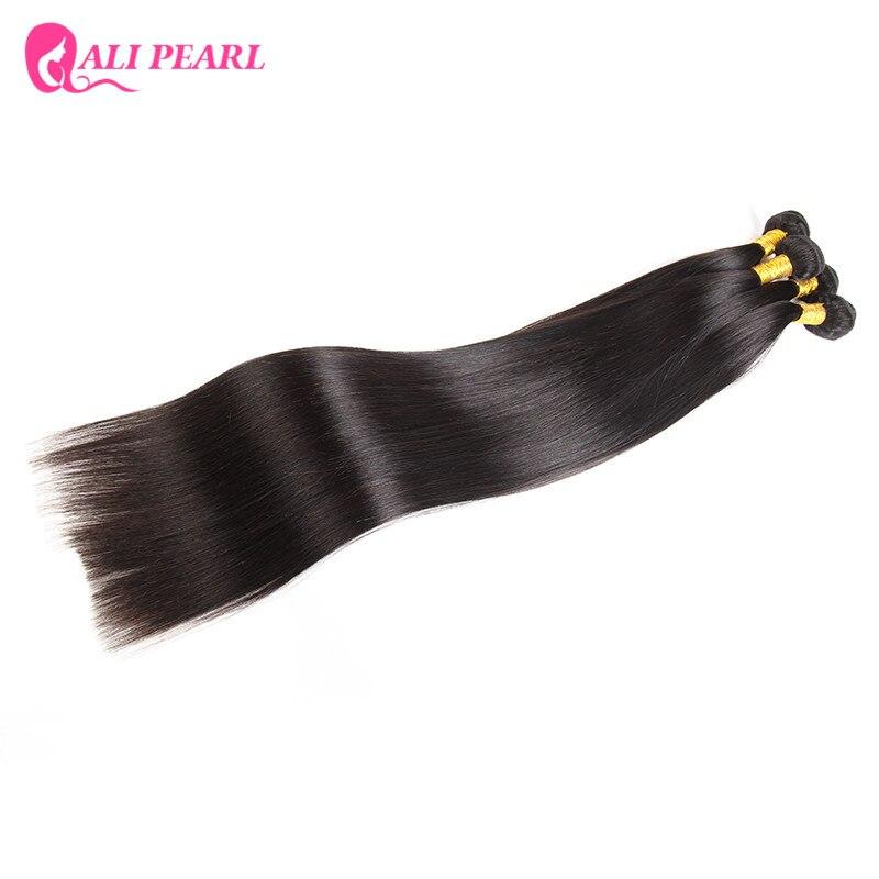 Cheveux Remy lisses noirs naturels-Ali Pearl Hair, longueurs longues, 30 32 34 36 38 40 pouces, 1 pièce seulement