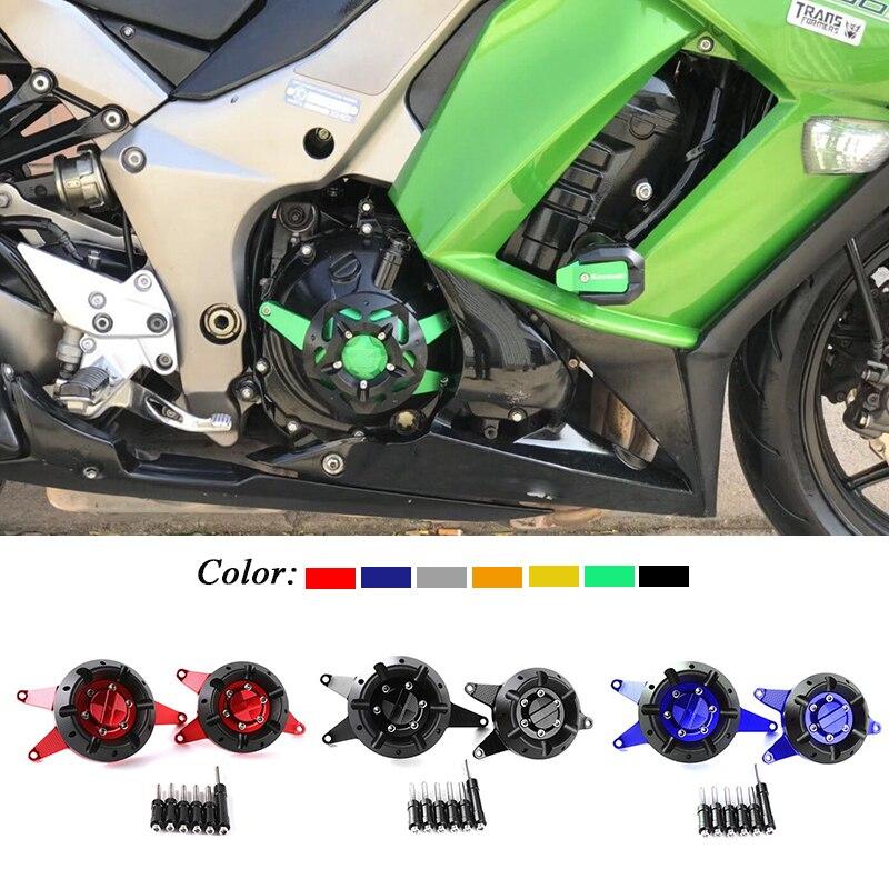 Pour KAWASAKI Z1000 2010-2018 Z1000SX 11-2017 Ninja1000 moto CNC en aluminium moteur Stator couvercle de protection protecteurs