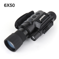 Professional 6X50 IR Night Vision Digital CCD Monocular Infrared Day And Night Vision Goggles With Light Induction for hunting