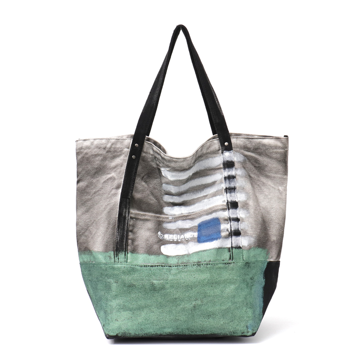 6c35d9e6afe US $24.79 40% OFF CEZIRA Fashion Women Big Tote Printed Bag Canvas Handmade  Paint Spray Color Holiday Shopping Beach Bags Large Shoudler Handbag-in ...