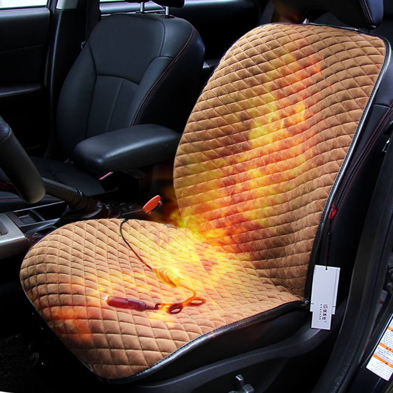 winter car heated cover car electric heated seat cushion for ford edge escape kuga fusion mondeo. Black Bedroom Furniture Sets. Home Design Ideas