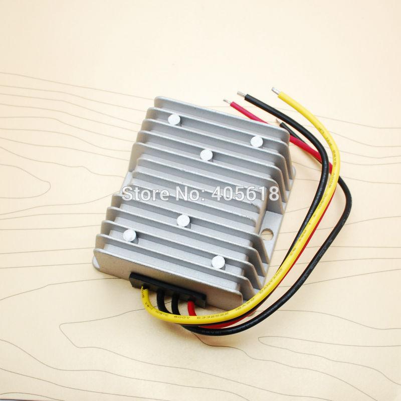 Vodotěsný konvertor stejnosměrného proudu 2PCS 24V na 13,8 V, 10 A / 138 W, regulátor napájení / regulátory napájení