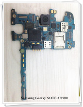 Setting language~Original 32GB Motherboard For SAMSUNG NOTE 3 N900 WCDMA Mainboard Board Free Shipping все цены