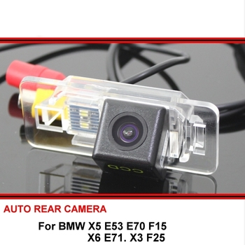 Fisheye SONY For BMW X5 E53 E70 F15 X6 E71 X3 F25 HD CCD Car Reverse Backup Rearview Parking Rear View Camera Night Vision image