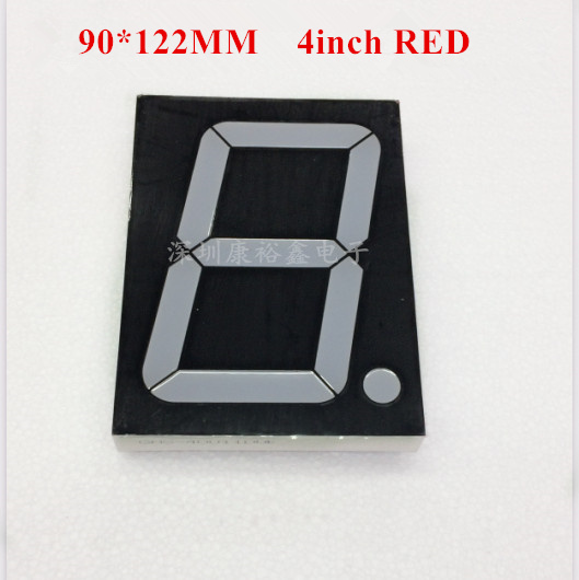 4inch 1digit Red 7 Segment Led Display 40101AS/40101BS