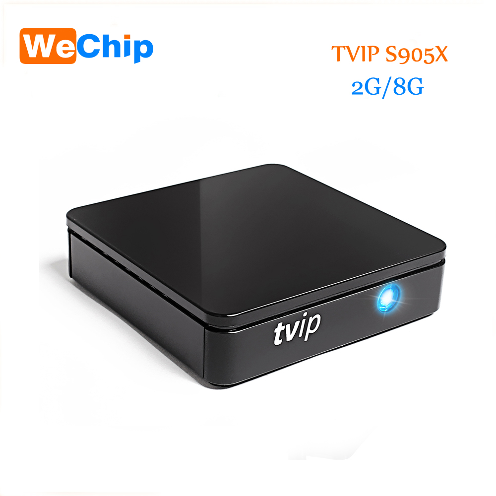 WeChip MINI TVIP TV Box Android 6.0 TV Box Amlogic S805 2G/8G Support 2.4G WIFI Set-Top Box Support 4K Media Player