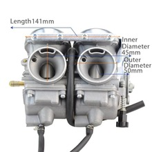 Goofit Twin Carburetor double  Carburettor cylinder Carb Chamber 250cc Rebel CMX CMX250 CA250 CBT250