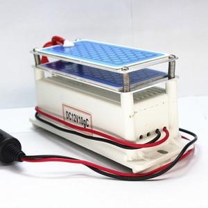 Image 3 - Генератор озона Kevinleo для автомобиля, 10 г, 12 В, долговечный, портативный, с керамической пластиной, очиститель воздуха, стерилизатор воздуха, ионизатор озона для автомобиля