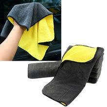 Extra Weiche 30*30 30*60 30*40cm Auto Waschen Mikrofaser Handtuch Plüsch Reinigung Trocknen Tuch auto Pflege Tuch Detaillierung Polieren