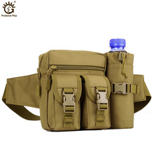 Waterproof Fanny Pack Sport Camping Water Bottle Waist Bag Tactical Molle Sling Pouch Bags Lightweight Hunting Climbing
