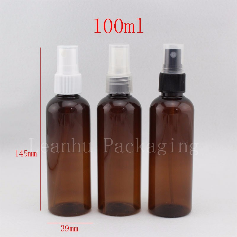 100ml brown bottle with spray