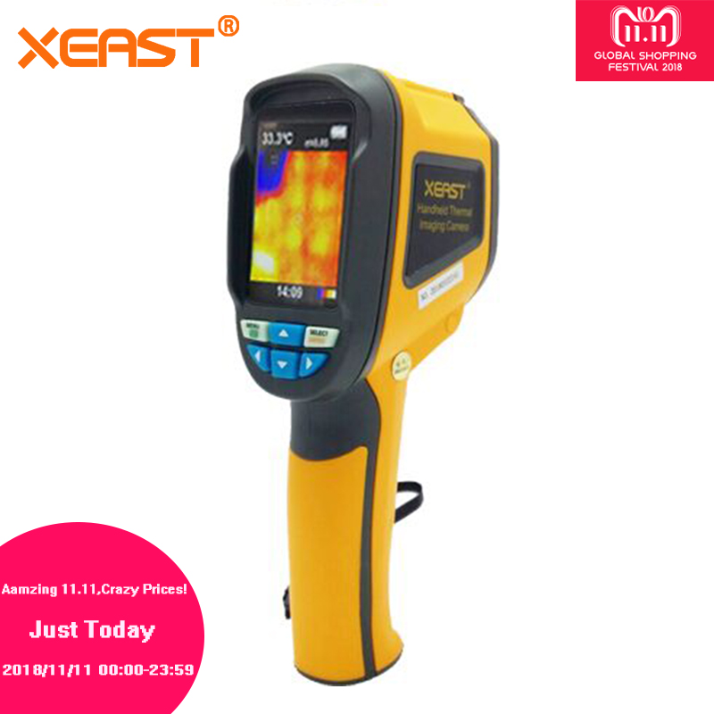 Send From Moscow Warehouse HT-02 Handheld Thermal Imaging Camera Infrared Thermometer Thermal Imager handheld infrared thermometer infrared imaging device ht 02 portable ir thermal imager thermal imaging camera ce rohs eertified
