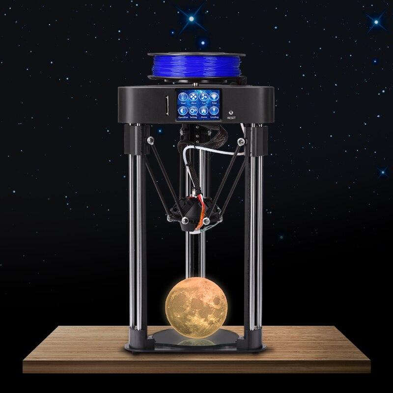 BIQU magicien kossel 3D imprimante Delta assemblé impresspra 3d cr-frame avec Titan extrudeuse écran tactile reprendre mise hors tension impression