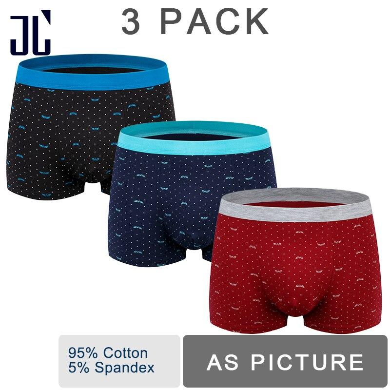 f092b19d14ac Dropwow JL 2/3/4 Pack Underwear Boxers Men 100KG L-7XL Plus Size ...
