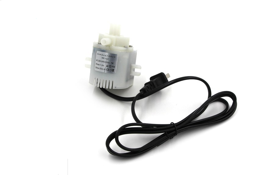 220V AC 7W Submersible Pump Water Pump with a motor thermostability  acidproof alkali Pump replacement plastic housing water pump motor ac 110v 13a