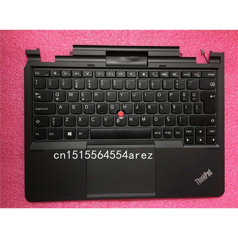 Nouvel ordinateur portable Lenovo THINKPAD HELIX TYPE 3XXX Palmrest clavier turc belge suédois/finlandais touches 04X0649 04X0630 04X0647