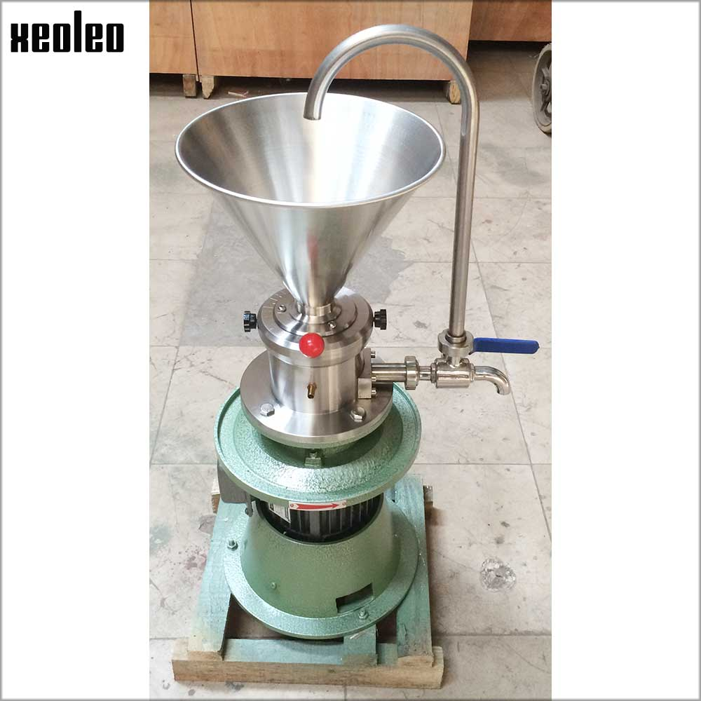 Xeoleo Peanut butter maker Peanut butter machine Sesame butter 1500W Grinding machine Commercial Grinder Butter Miller 30kg/h household peanut butter maker machine home use peanut butter machine