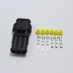 Image 4 - 60sets DJ7031 1.5 Waterproof Electrical Wire Connector 3 P Male & Female Automobile Connection for Car ect