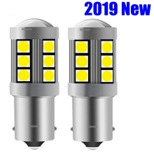 2 шт. мини 1156 P21W BA15S 7506 R10W высокое качество 3030 светодиодный авто тормозные лампы Автомобильный дневной ходовой Светильник лампы заднего хода поворотники