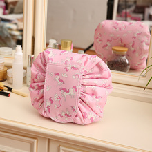 Protable Cosmetic Travel Pouch Drawstring Cosmetic Bag Women Travel Storage  Lady s String Packing Bag For Toiletries b9cd2b6e278f0