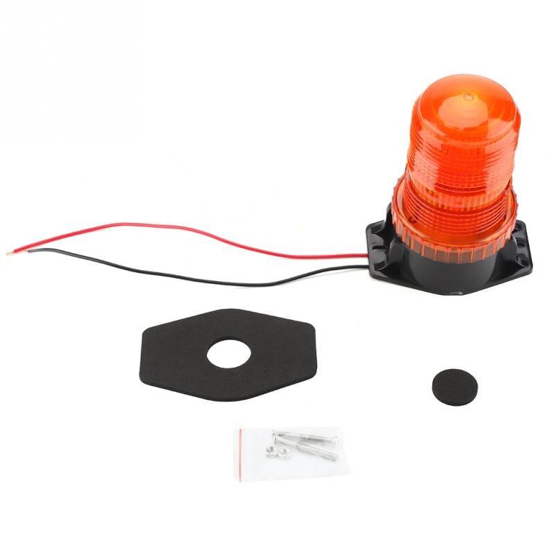 10-110V Warning Light 30 LEDs Flashing Rotating Bulb Strobe Forklift MLighting