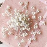 Original Handmade Bridal Tiara Comb Style Wedding Wedding Induced Fine Hair Ornaments Crystal Crown 9865