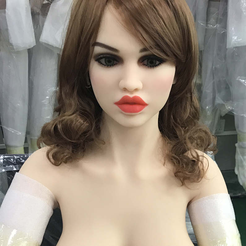 Europe face 66 oral sex doll head for big size 135cm 140cm 148cm 153cm 152cm 155cm