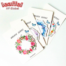 20pack/lot Beautiful Garland design Memo pad sticky notes post it message papelaria funny gift prize office school supplies недорго, оригинальная цена