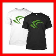 Top Nvidia GeForce GTX 1050 de 1060 1070 divertido de camiseta en blanco y negro, S, M, L, XL # DEL29(China)
