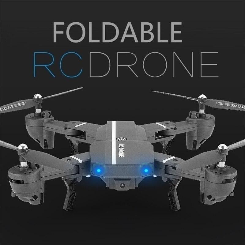 Nano 8807W składana z 30W/200W WIFI FPV RC kamery 2.4G 6-Axis funkcja sterowania głosem zdalnie sterowany Quadcopter zabawki drony