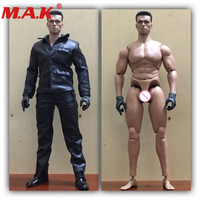 1/6 scale male man leather clothing pants clothes set fit for muscle strong boy 12 action figure body accessories