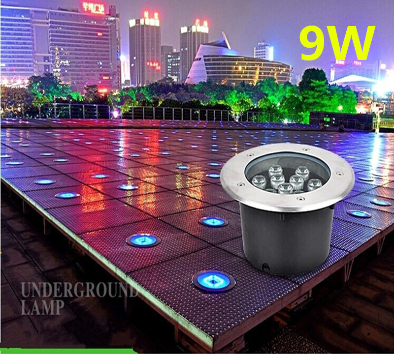 buy waterproof led underground lights lamp ip67 buried outdoor spot recessed inground lighting 1w3w path garden path lamp from reliable led