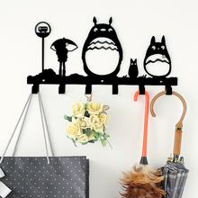 Creative Cartoon Wall Decoration Key Holder Home Furnishing Clothes Metal Hook Clothes Hanger Hook Key Hook