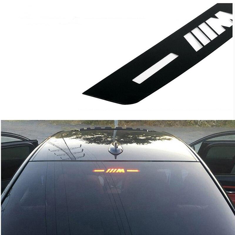 Автомобильные аксессуары, наклейка с высоким тормозом, эмблема м для BMW M, E46, E36, E90, E53, E39, F10, F30, E60, F20, X3, X5, X1, 3, 5, 7 серии, автомобильная наклейка