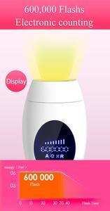 Image 1 - 2019 YENI 600000 KEZ IPL Epilatör Kalıcı Lazer Epilasyon lcd ekran depilador bir lazer Bikini Giyotin Fotoepilator