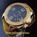 47mm Parnis Sapphire Glass Luminous Japan 21 Jewels MIYOTA Movement men's watch