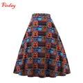 Fioday Brand Fashion Print Women Skirt Christmas Gift Stylish Knitted Cotton Ladies Casual Skirt