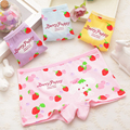 4 pcs/lot All for the children's clothing The children's underwear bow boxer pure cotton girls underwear pants for girls 6016
