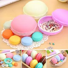 Newest Storage  8pcs Earphone SD Card Macarons Bag Big Storage Box Case Carrying Pouch  Levert Dropship dig6413