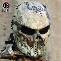 Highland Masks Camouflage Ghost Tactical Military Shooting Army Paintball Airsoft Balaclava Protection Full Face Mask