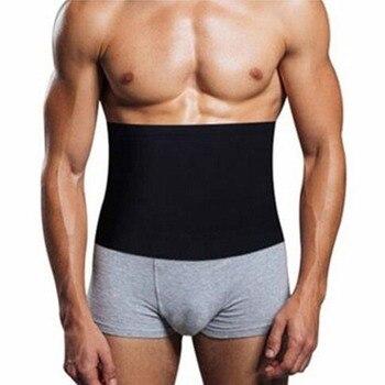 Мужской утягивающий пояс для похудения живота