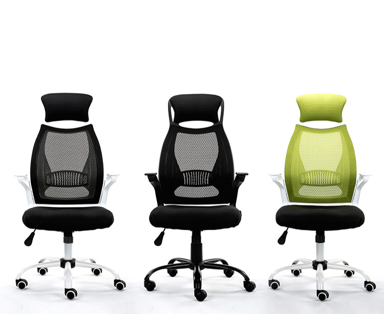 Ergonomic Executive Office Chair Swivel Computer Chair HighDensity Mesh Lifting Adjustable bureaustoel ergonomisch sedie ufficio 240337 ergonomic chair quality pu wheel household office chair computer chair 3d thick cushion high breathable mesh