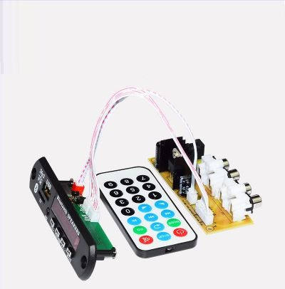 Bluetooth 4.2 module music call Mobile APP control Radio Udisk TFcard APE decoding USB sound card DC12V power