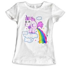 bb277ac83b150 Girls Womans Unicorn Celebrity Girly Princess Tumblr Fashion Paris T Shirt  Womens Tops Fashion Design 100