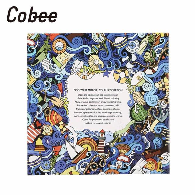 Cobee 4pcs English Coloring Book Painting Books Drawing Gifts For Kids Children Adults